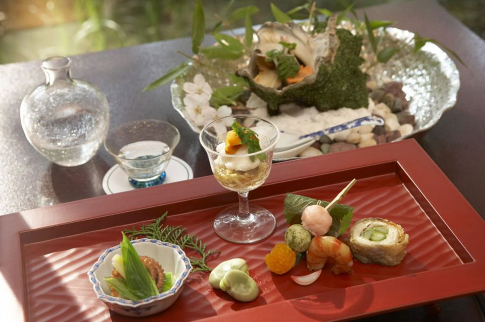 Kaiseki ist die Krönung der japanischen Kochkunst