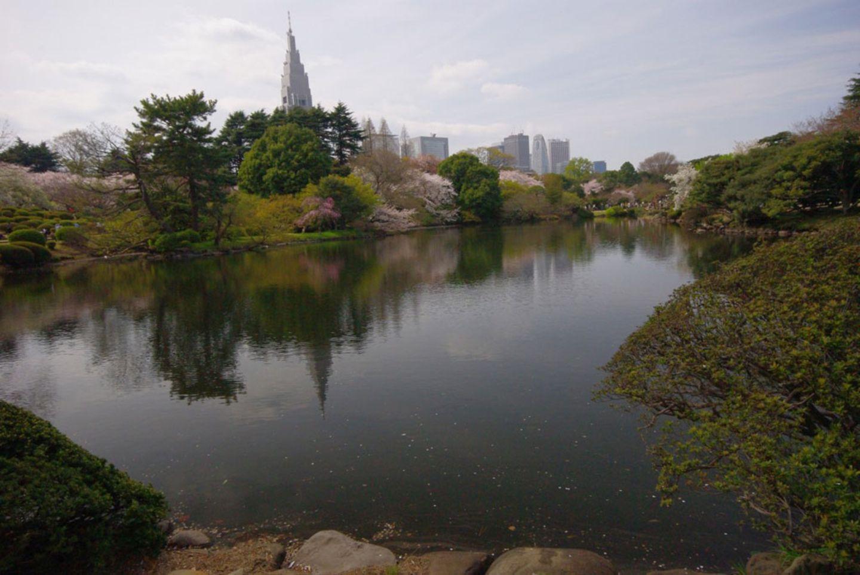 Shinjuku Gyoen Nationalgarten