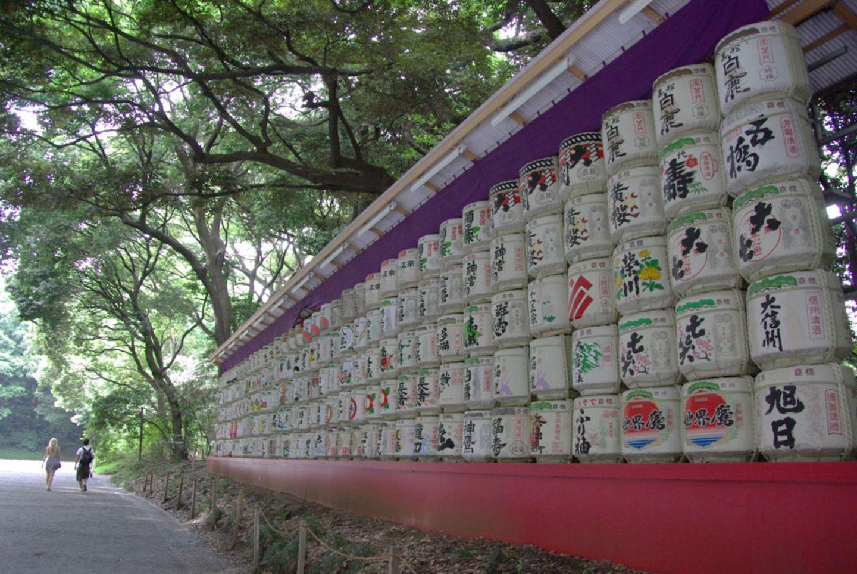 Sake als Opergabe