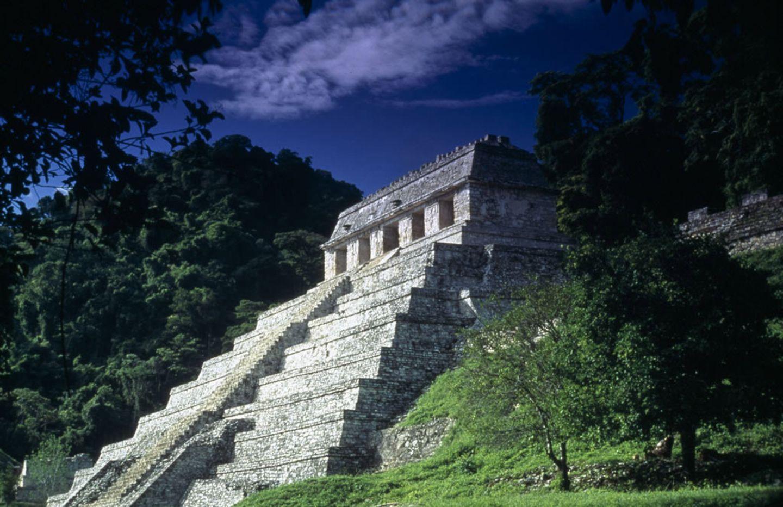 Maya-Pyramiden