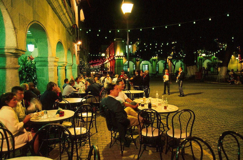 Mexikanisches Nachtleben