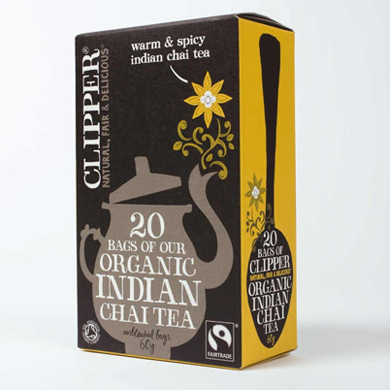 Organic Indian Chai Tea von Clipper