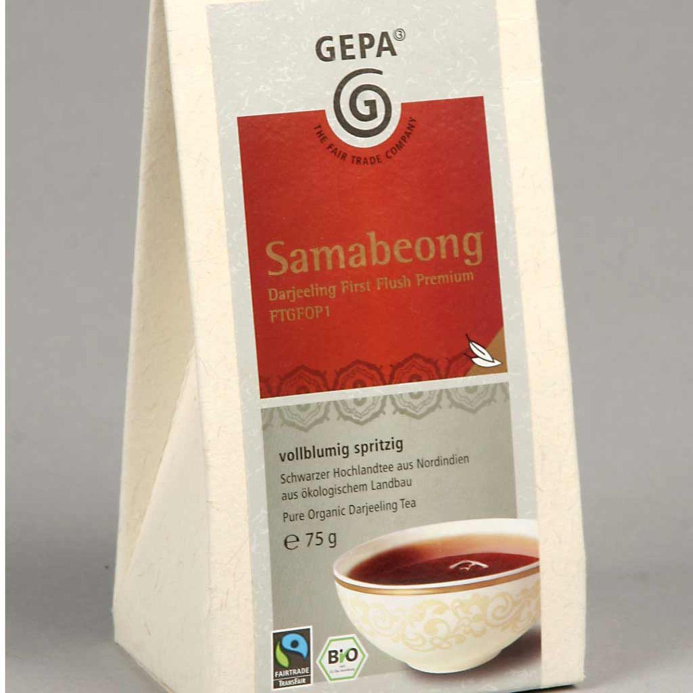 Bio Tee von GEPA: Samabeong Darjeeling First Flush Premium