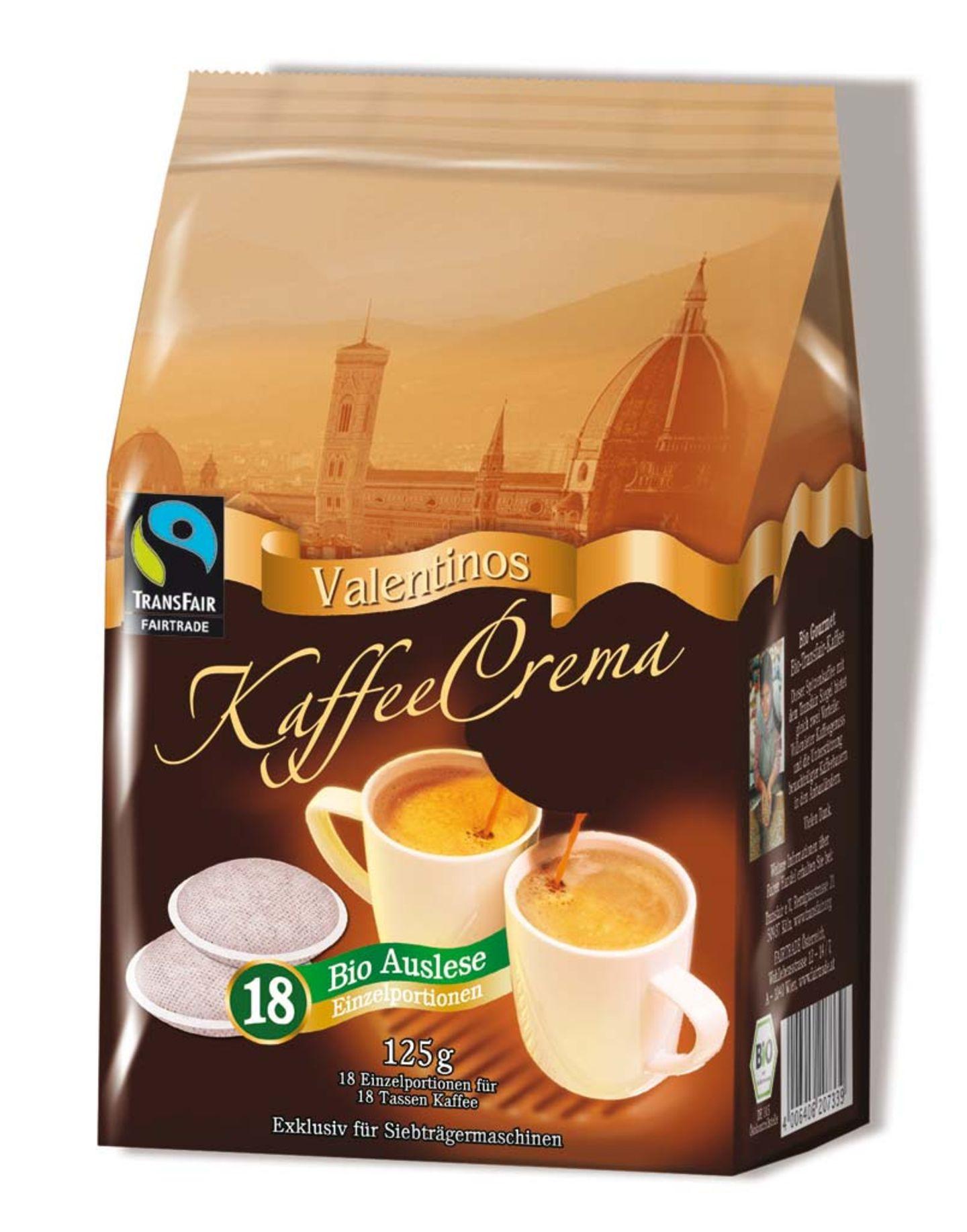 Valentinos Kaffeepads