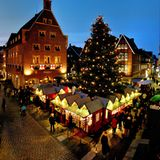 Weihnachtsdorf in Münster