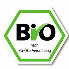 Das deutsche sechseckige Bio-Siegel