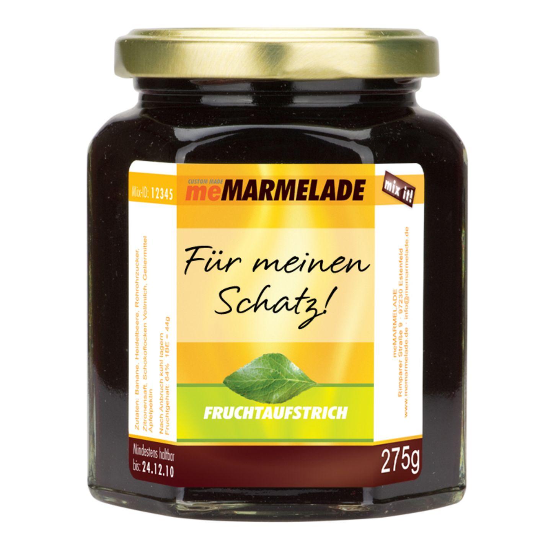 Marmelade zum Valentinsfrühstück