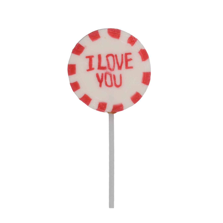Kleine Aufmerksamkeit: I love you-Lolly