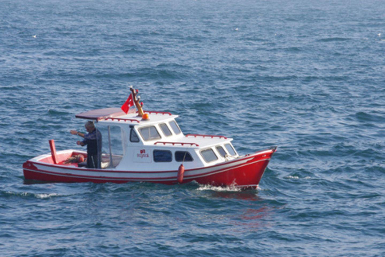 Fischen auf dem Bosporus