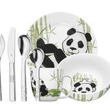 Essen mit Pandabären