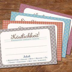 Einmach-Etiketten zum Bestellen