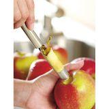 Apfelentkerner: Äpfel vorbereiten