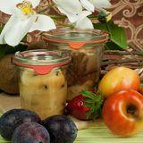 Weck-Glas fürs Einkochen