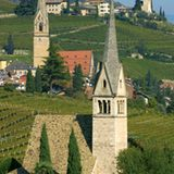 Weingebiet Kaltern und Tramin