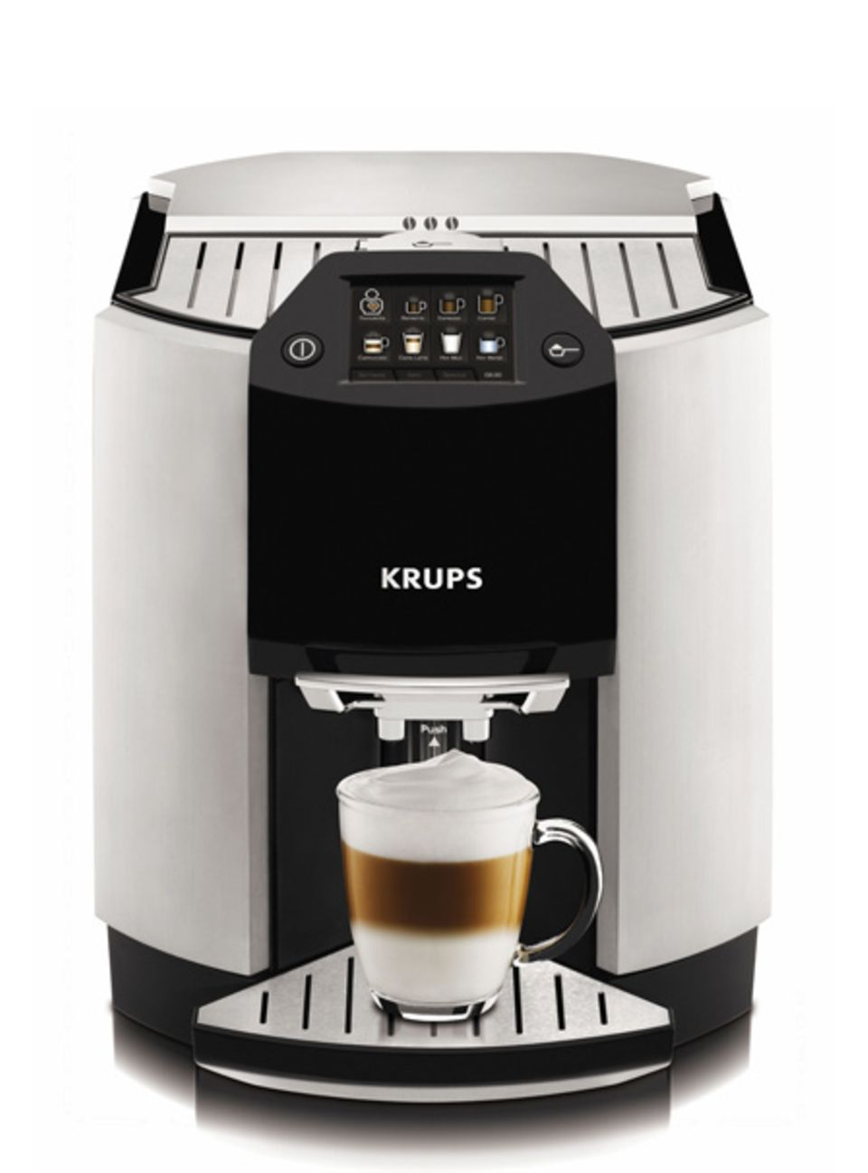 Kaffeevollautomat EA 9000 mit selbstreinigender Milchdüse