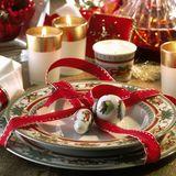 Klassische Weihnachtsfarben
