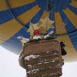 Nikolaus-Ballonstart in Sonthofen