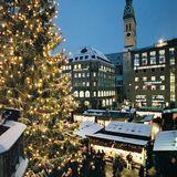 Weihnachtsmarkt am Münchener Marienplatz