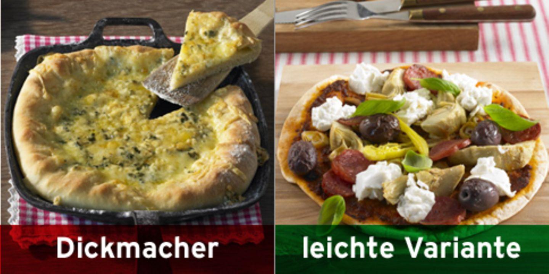 Statt Käsepizza: Tortillapizza