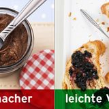 Statt Schoko-Creme: Heidelbeer-Honig-Konfitüre