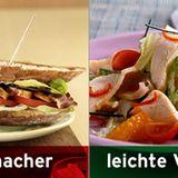 Statt Hähnchensandwich: Hähnchensalat