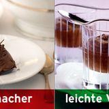 Statt klassischer Mousse: leichte Mousse au chocolat