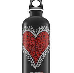 Knalliges Rot auf Schwarz: Heart