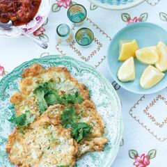 """Tofu-Omelett: Rezept von Bill Granger aus """"Easy Asia"""""""