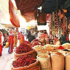 Gewürzmarkt Nawalgarh, Indien