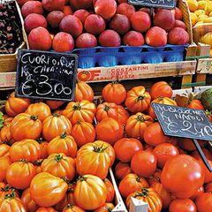 Obst- und Gemüsestand in Italien