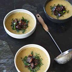 Pismek - Kochen auf Türkisch: Rote-Linsen-Suppe mit Aubergine und Minze