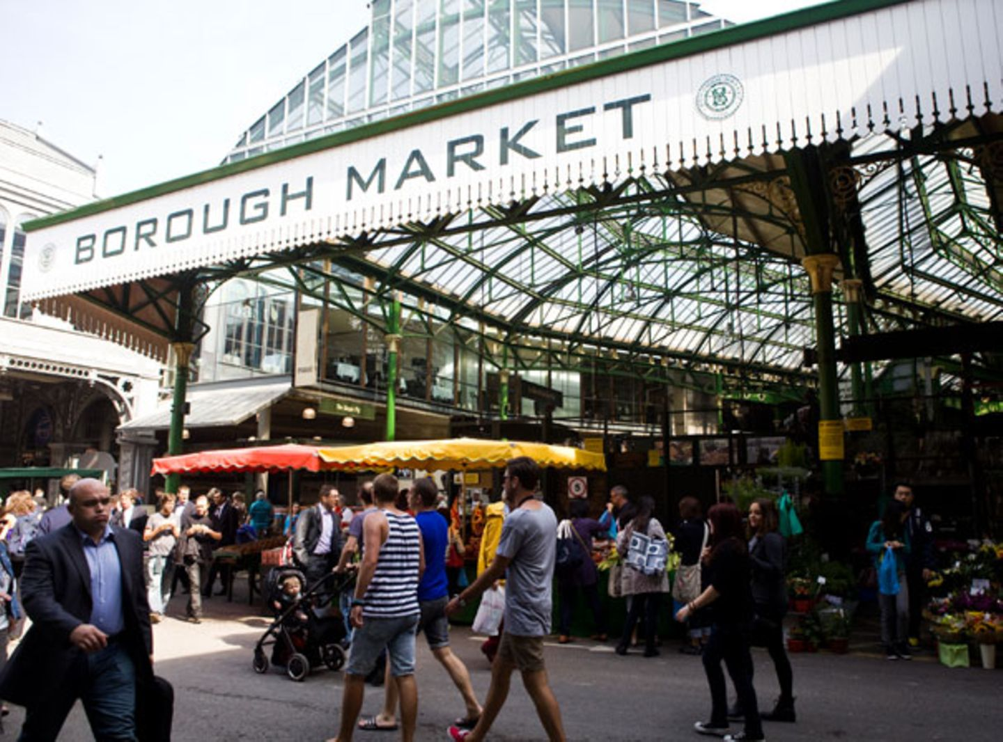 Kulinarisches am Wasser: Bourough Market
