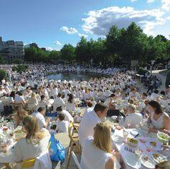Das Weiße Dinner in Hamburg