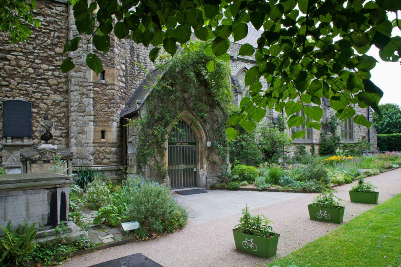 England: Café im Garden Museum London