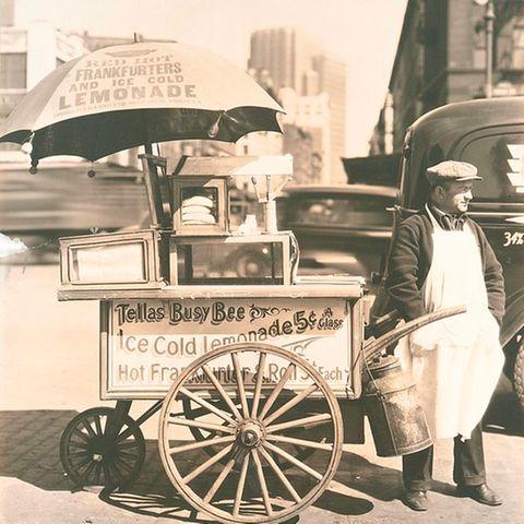 Hot Dog Wagen 1936