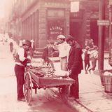 Muschelverkäufer um 1904