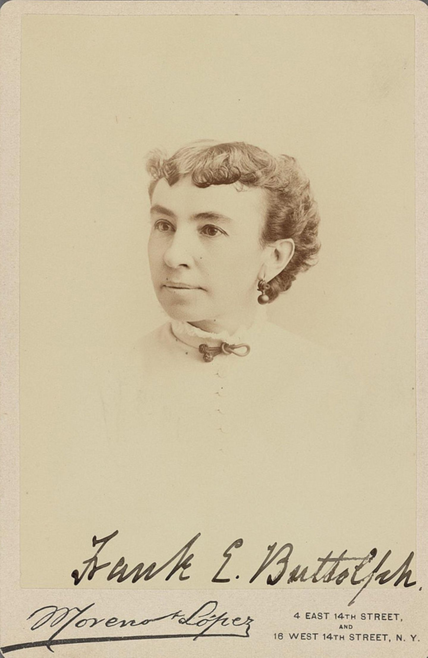 Miss Frank E. Buttolph, ca. 1900