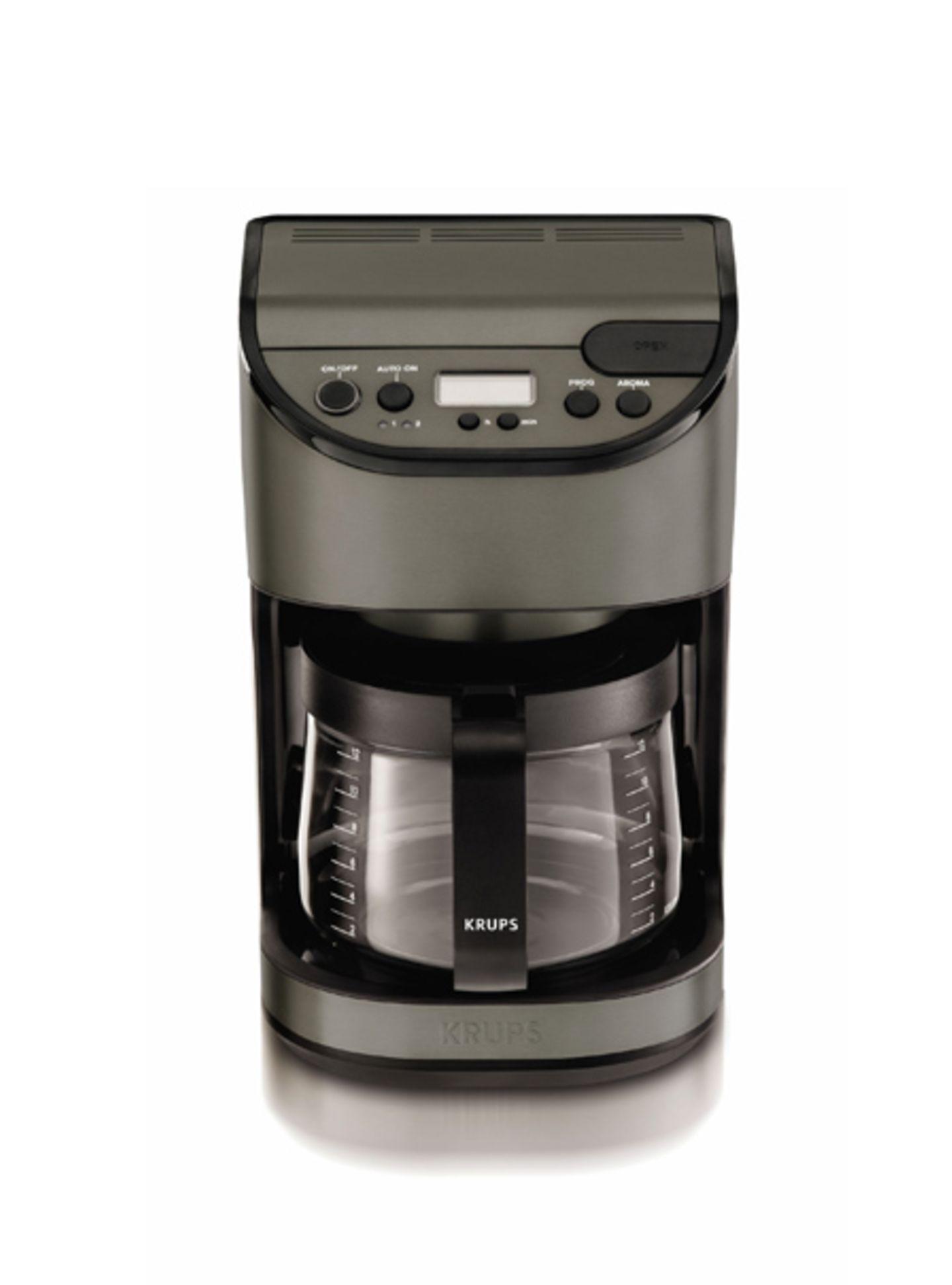Kaffeemaschine mit Glaskanne: Premium Serie KM 611T