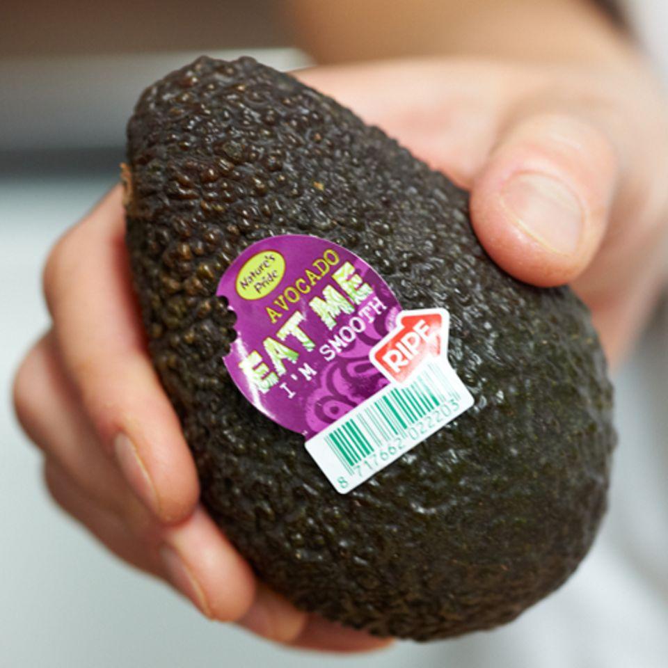 Hass Avocados sind kleiner und runder als die Sorte Fuerte