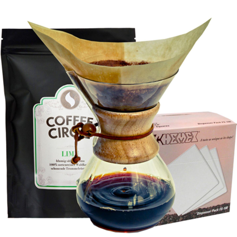 Gourmet-Set für Kaffeeliebhaber