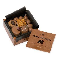 Weihnachts-Pralinen in der Box