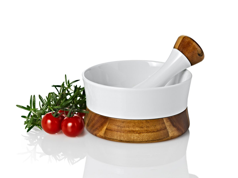 Hochwertiger Porzellan-Mörser