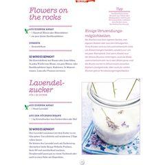 Rezepte für essbare Blumen