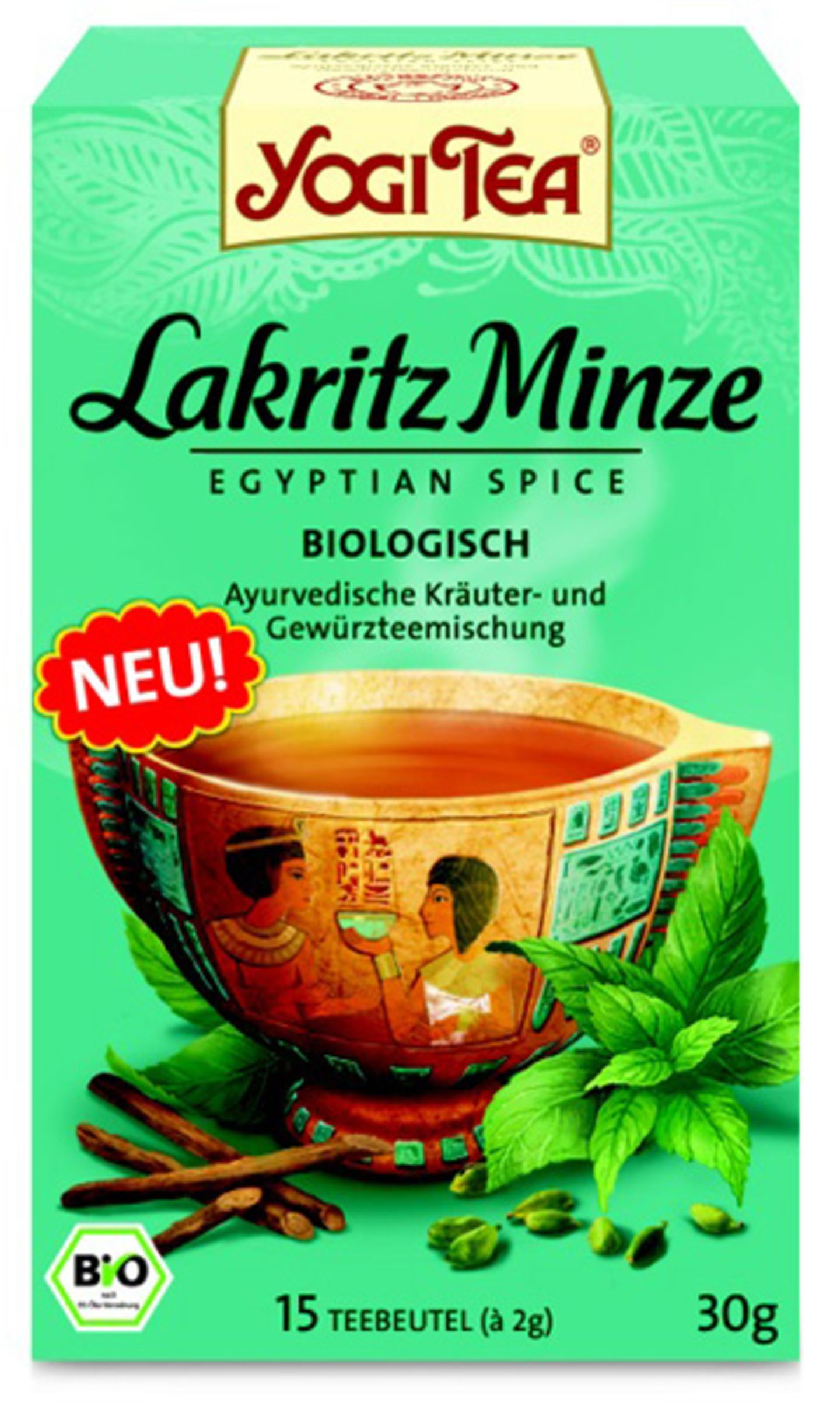 """Lakritz Minze"" von Yogi Tea"