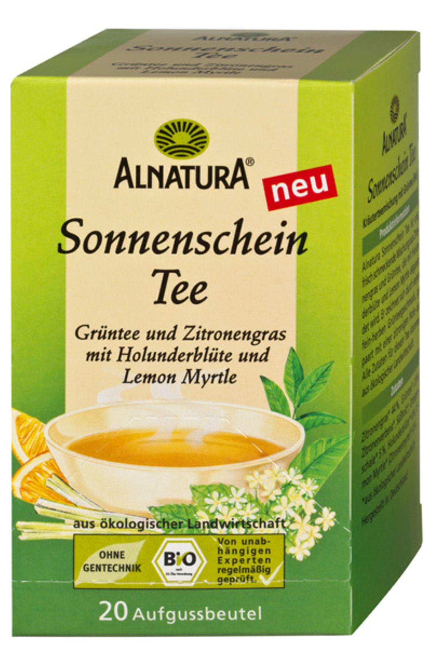"""""""Sonnenschein Tee"""" von Alnatura"""