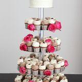 Etagere Torte mit Cupcakes