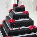 Torte im Boudoir-Stil