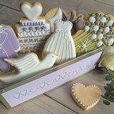 Hochzeitskekse statt Torte