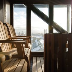 Sauna im Radisson Blu Seaside Helsinki