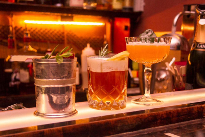 Ausgezeichnete Cocktails